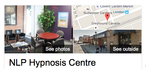 NLP Hypnosis Centre. London, Ontario. Canada.
